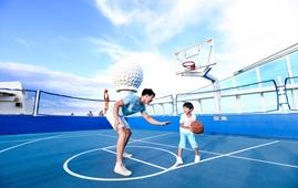 甲板篮球场